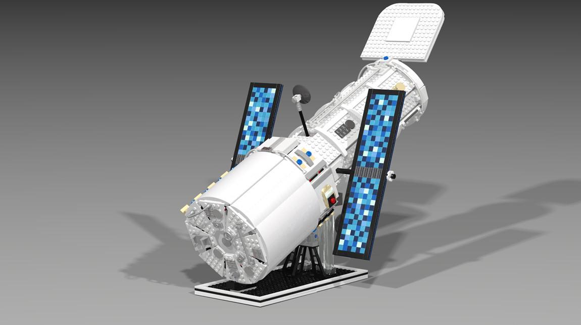 LEGO Hubble Telescope 7