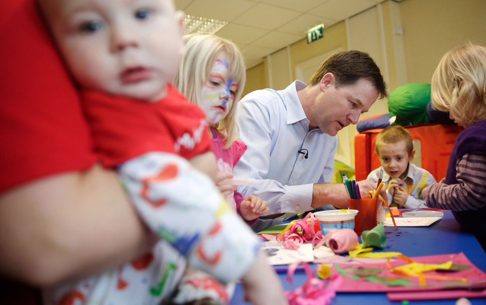 Nick Clegg Children