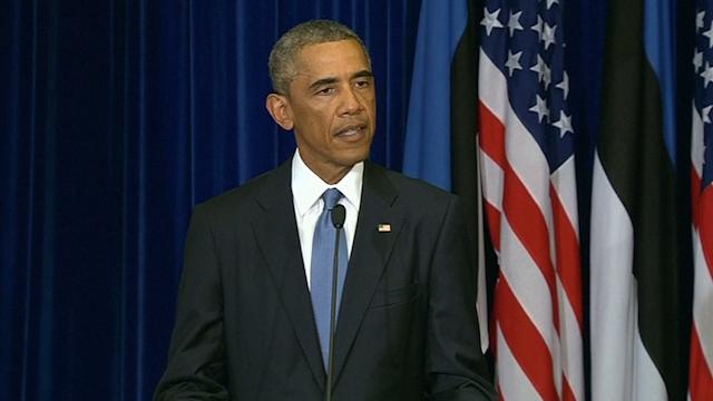 Obama Condemns 'Barbarism' of Steven Sotloff Killing