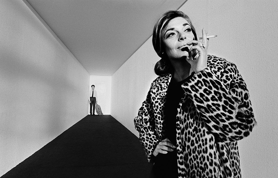 Anne Bancroft and Dustin Hoffman, 1967