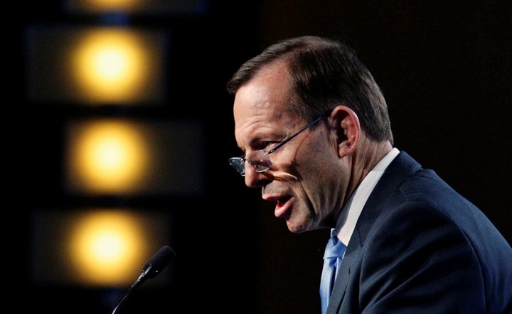 Australia PM Tony Abbott