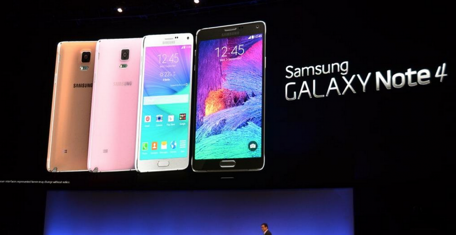 Samsung Galaxy Note 4 Launched