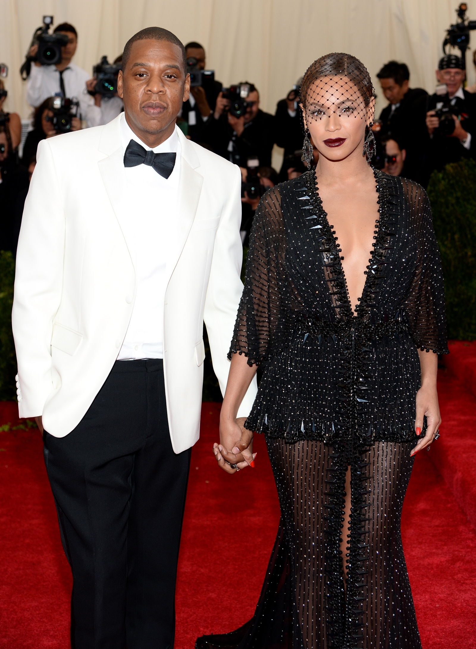 Beyoncé and Jay Z at the Met Gala