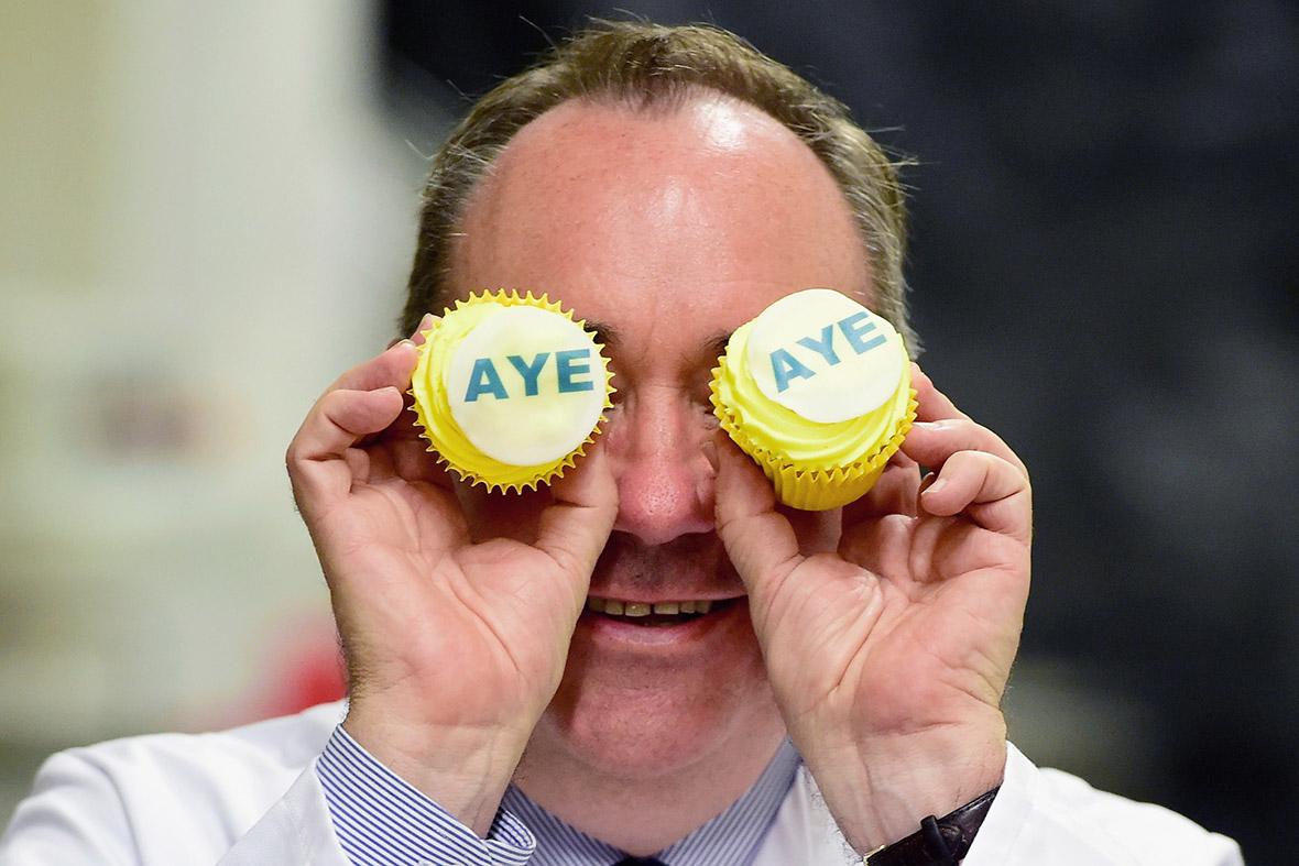 alex salmond cupcakes aye eye