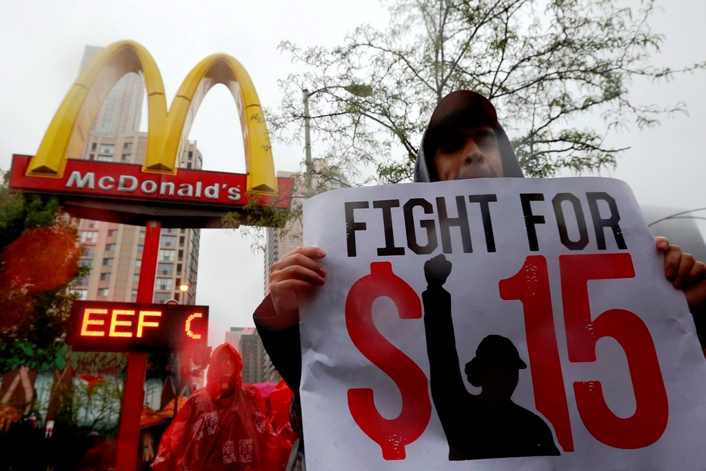 Fast Food Worker Protests US
