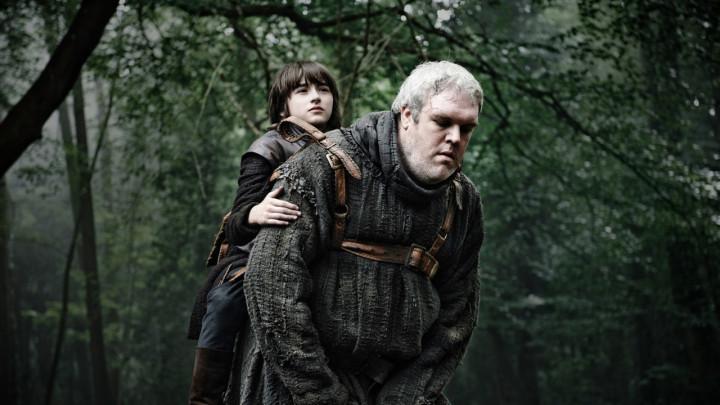 Bran Stark and Hodor