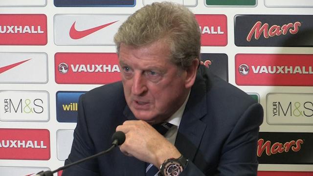 Roy Hodgson Angry at England Stats