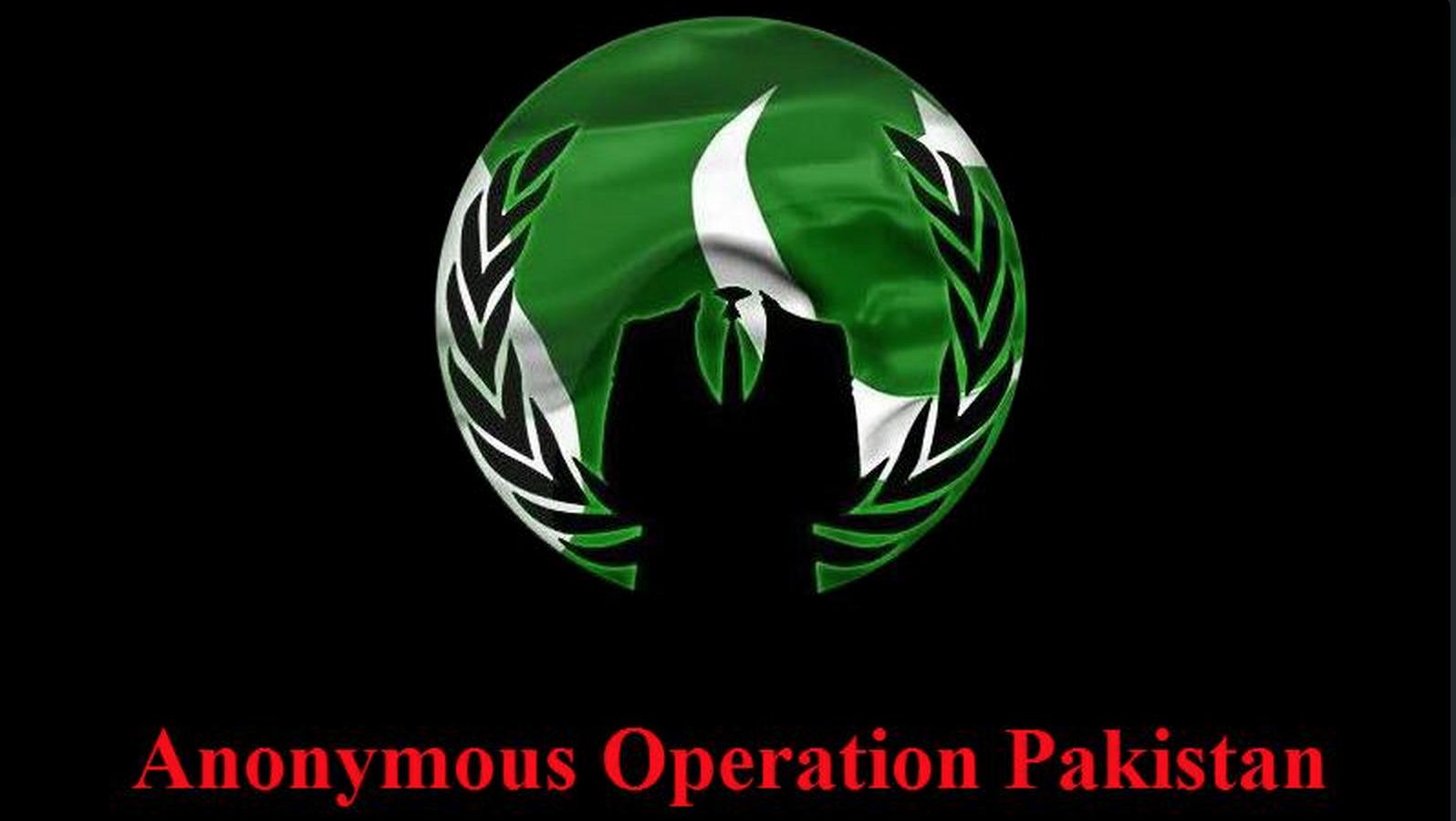 Anonymous OpPakistan Operation Pakistan