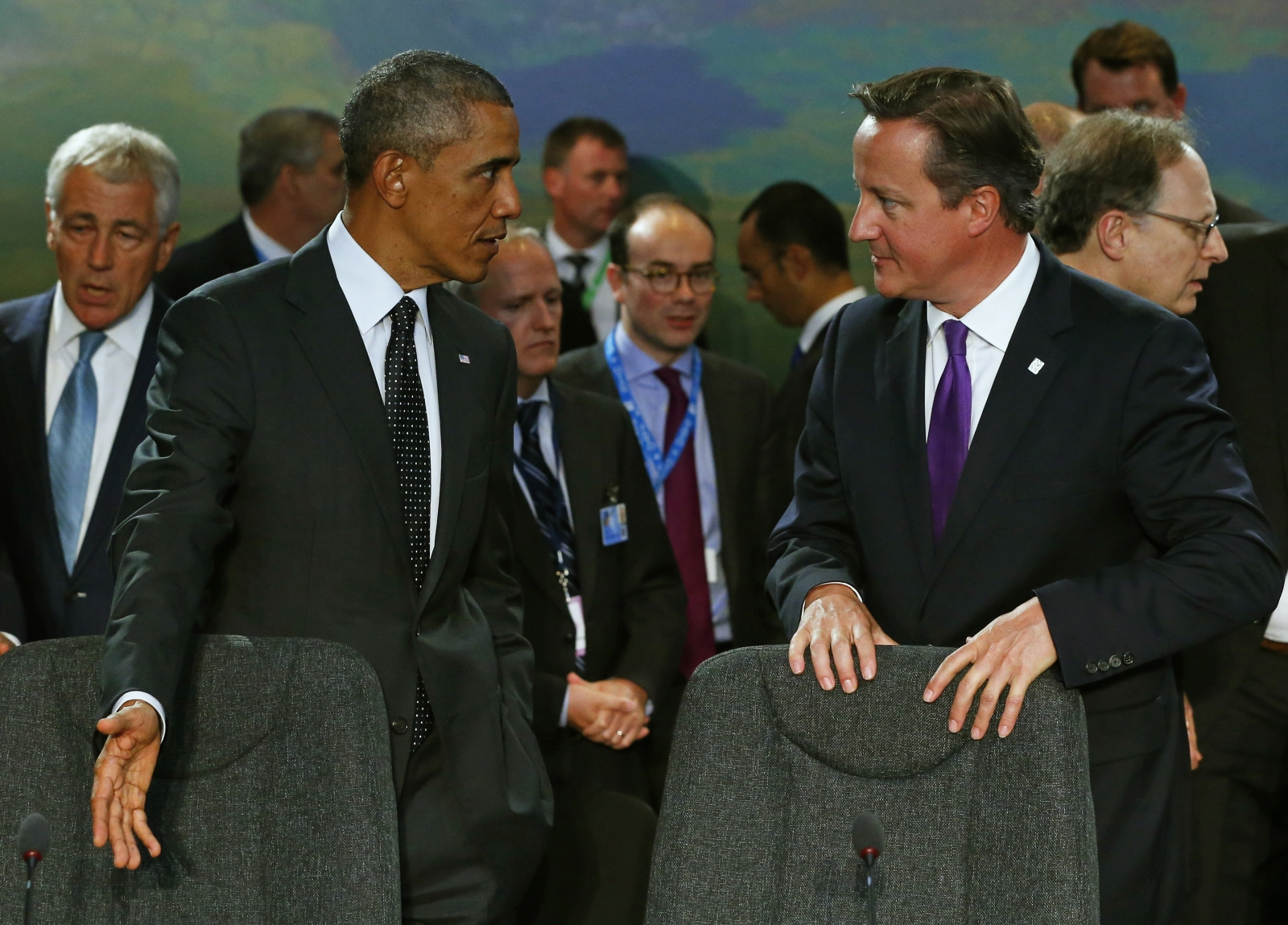 Nato Leaders Convene to Talk Russia & Isis Threat