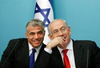 Benjamin Netanyahu and Yair Lapid