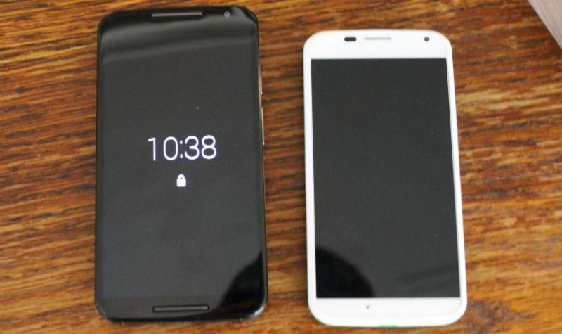 Moto X (2014) vs Moto X (2013)