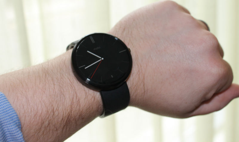 New Motorola Moto 360 Smartwatch Stocks Now Available