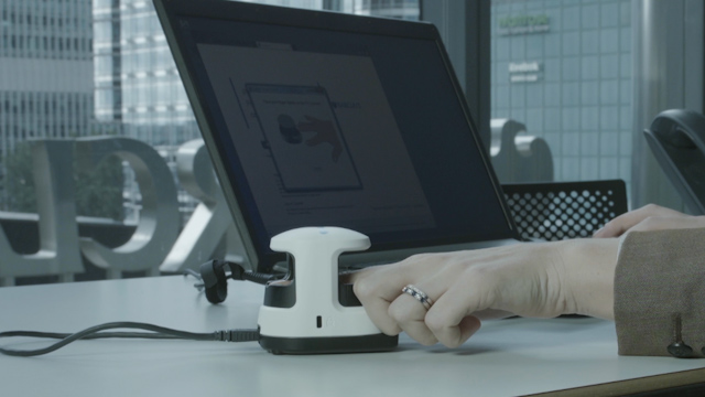 Barclays and Hitachi Unveil Unbeatable Fingertip Biometric Reader