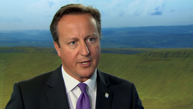 David Cameron: Action on the Ground Needed Against Isis
