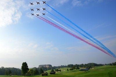 Nato red arrows