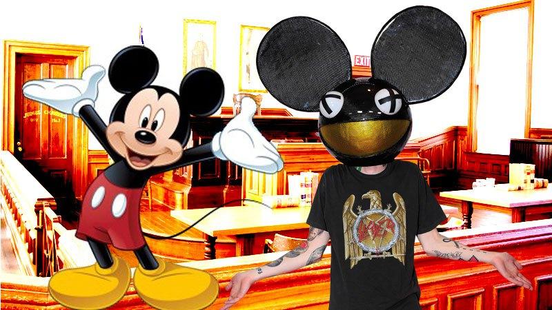deadmau5 vs Disney Over Mau5Head Logo