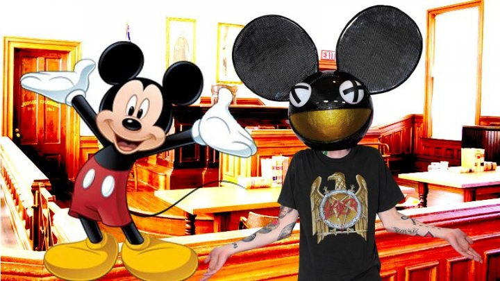 Deadmau5 vs Disney Over Mau5Head Logo