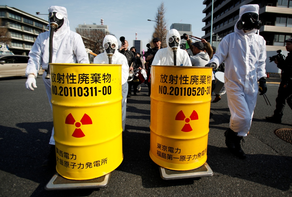 Anit-Nuclear Protests Japan