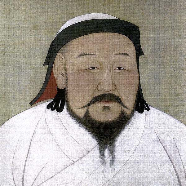 Kublai Khan, a Mongol who founded the Yuan Dynasty in medieval China