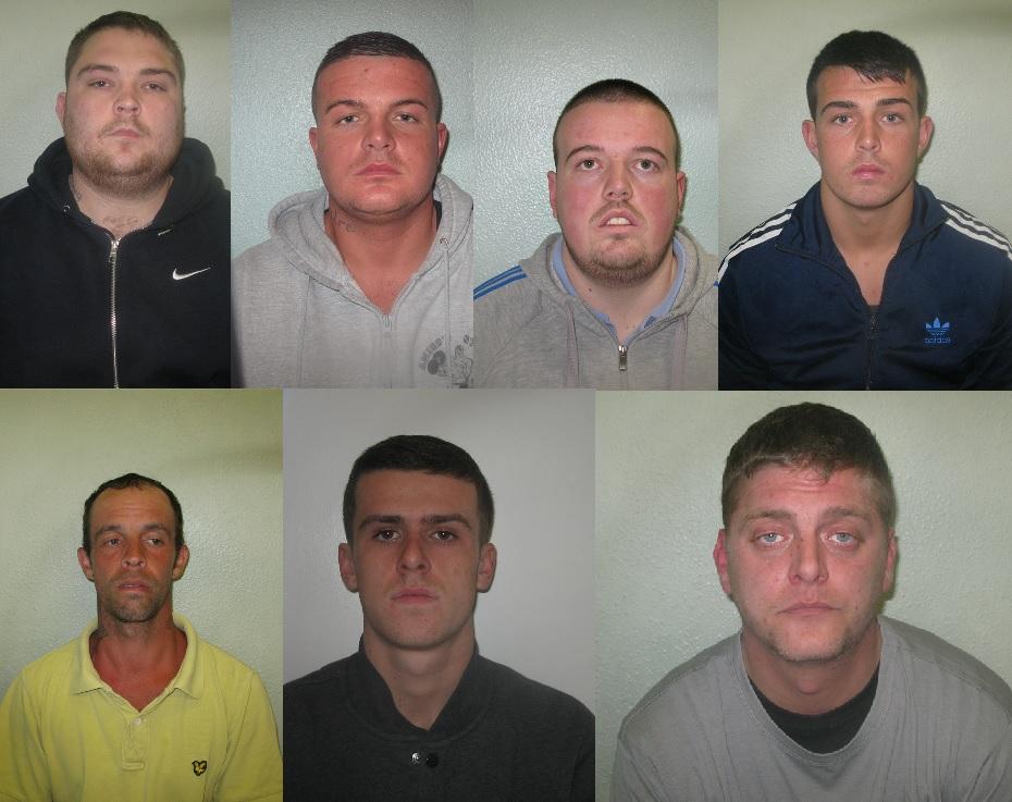 London Gang Wars Kidbrooke Crew Jailed For Marcus