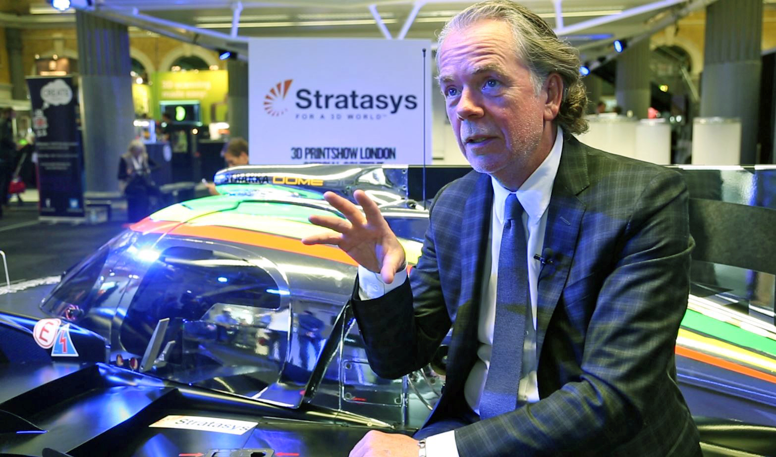 Stratasys' Andy Middleton thinks that 3D-printing could make