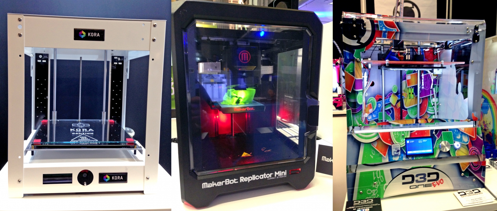 Here's a look at our favourite desktop 3D printers from the 3D Printshow 2014 in London