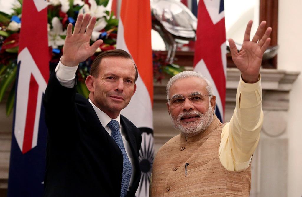 Tony Abbott Narendra Modi