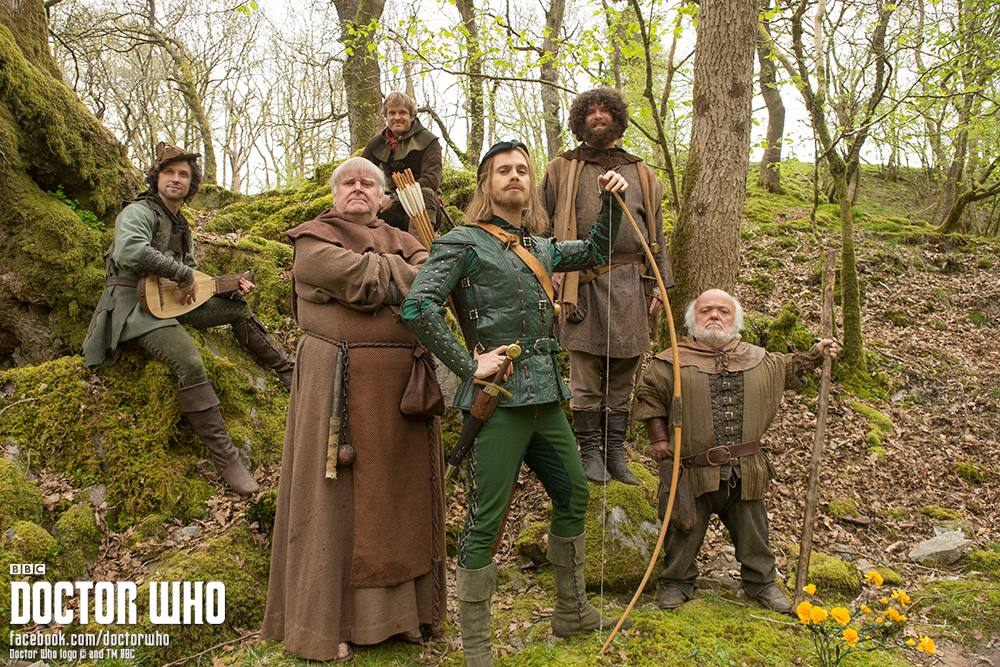 Doctor Who Season 8: Preview of Episode Three 'Robot of Sherwood'