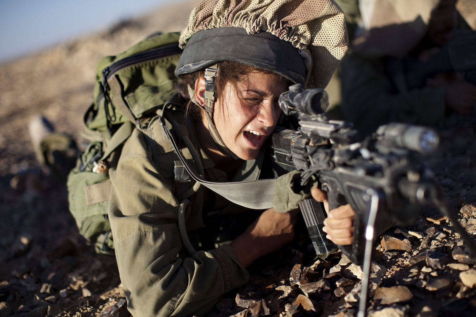 Israeli Female Soldiers 1