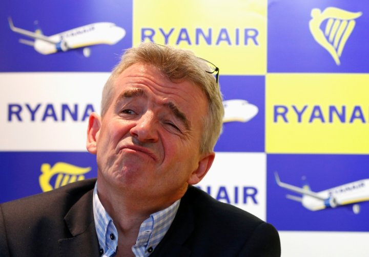 Ryanair Chief Executive Michael O'Leary.