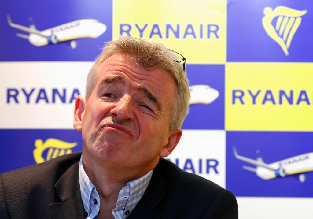 Ryanair Chief Executive Michael O'Leary.