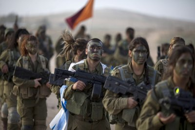 Israeli Female Soldiers 13