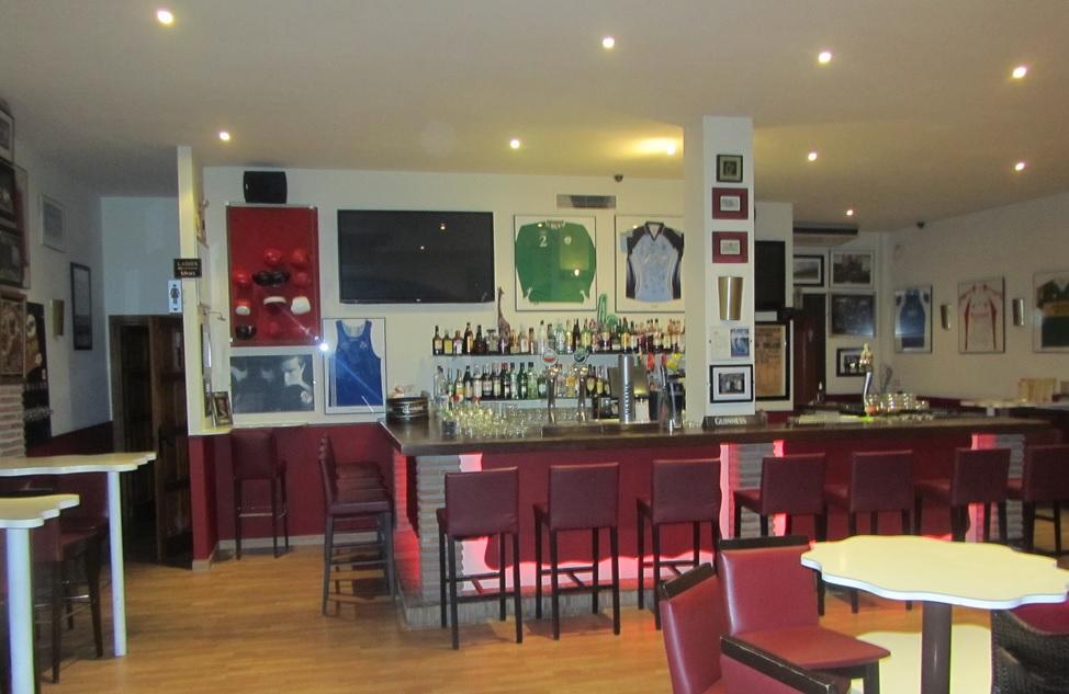Harmons Irish Bar in the Costa Del Sol, where Gerard Kavanagh was shot dead