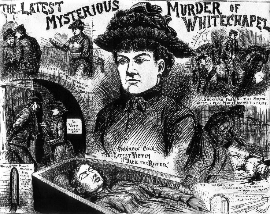 Jack the Ripper - Mary Coles newspaper report