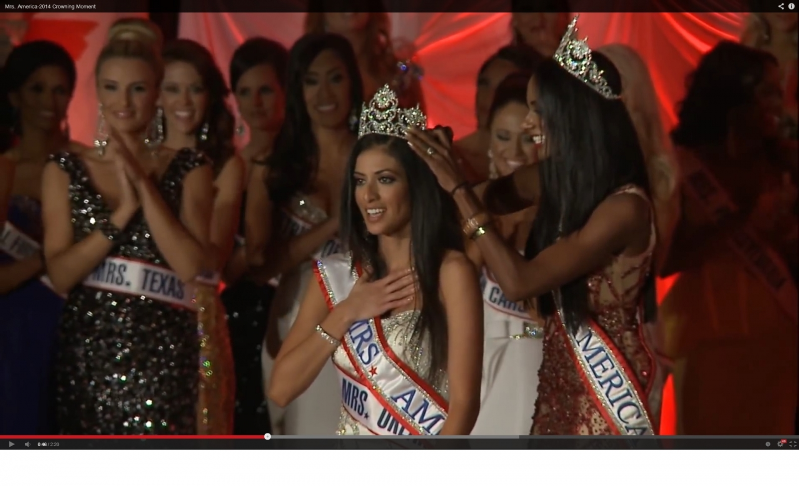 Mrs America 2014 is crowned (YouTube)