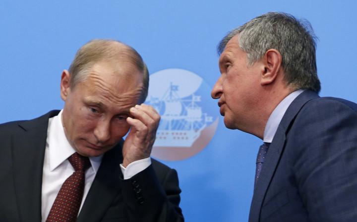 Vladimir Putin Igor Sechin