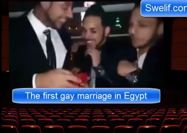 gay wedding Egypt