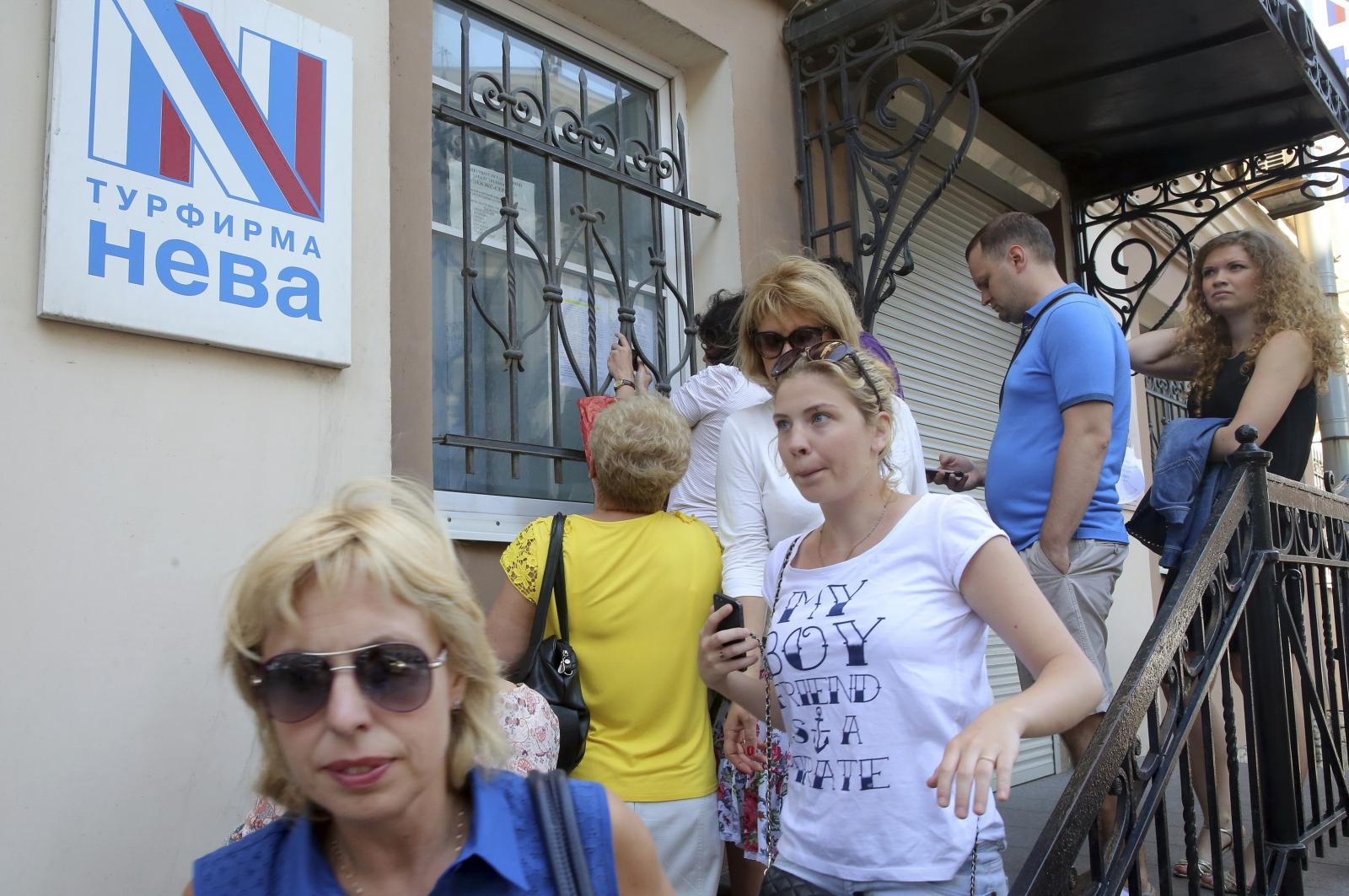 Russia tourists