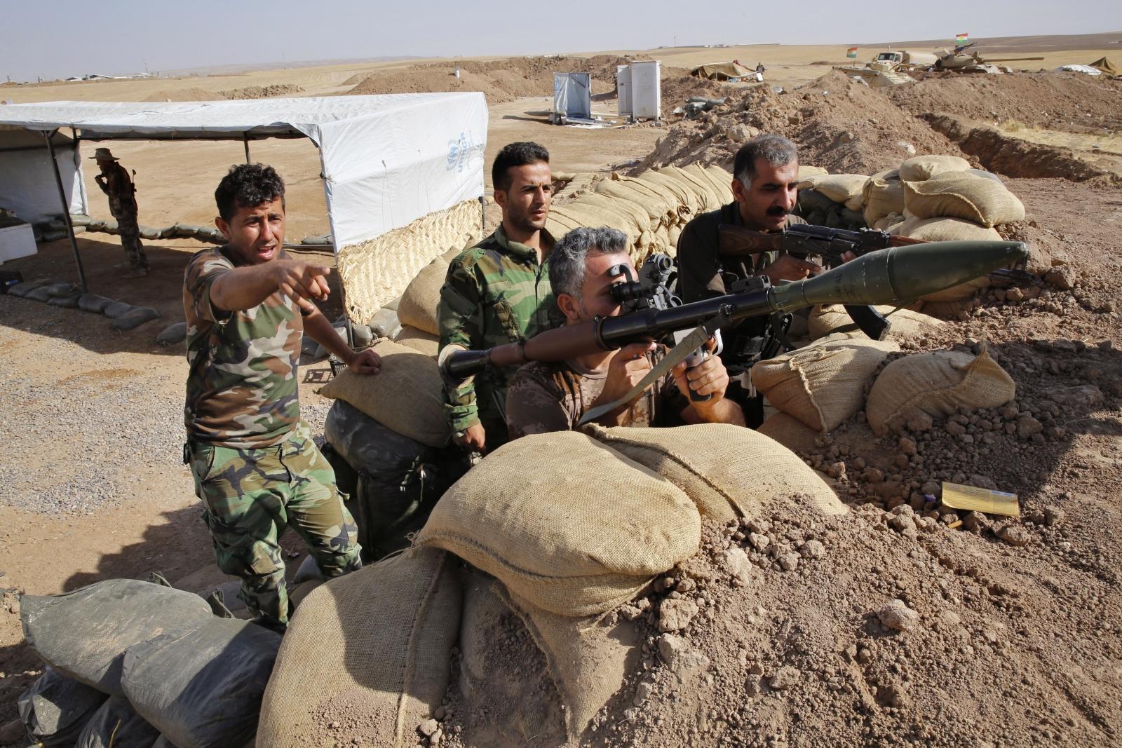 ISIS Kurd