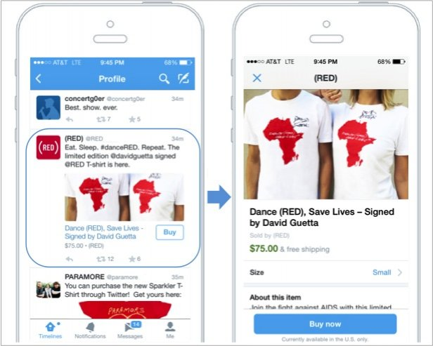 Twitter Buy Button Launched