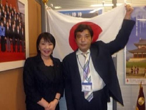 Kazunari Yamada Japan Neo Nazi Sanae Takaichi