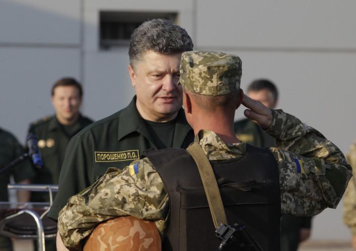 Mariupol Petro Poroshenko Ukraine Crisis