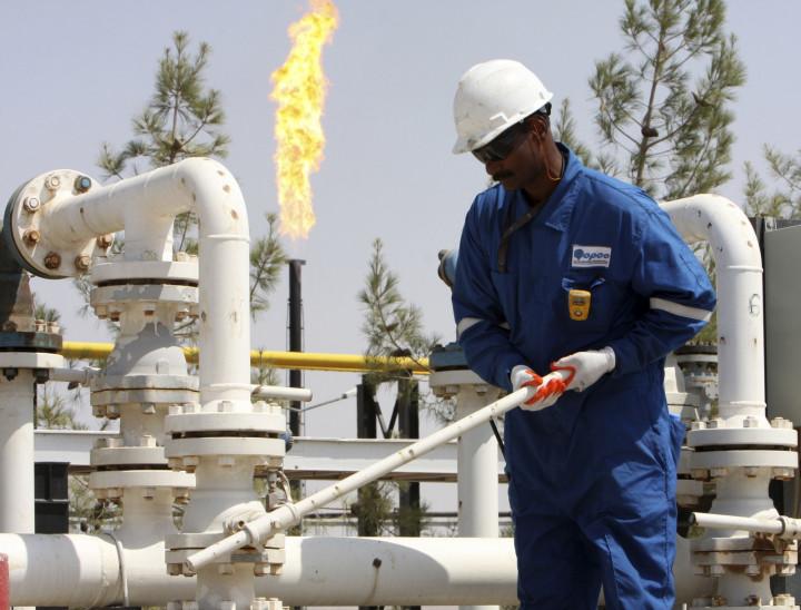 oil worker Kurdistan
