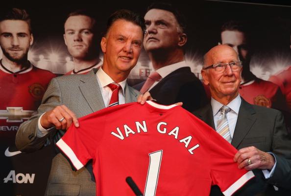 Louis van Gaal-Sir Bobby Charlton