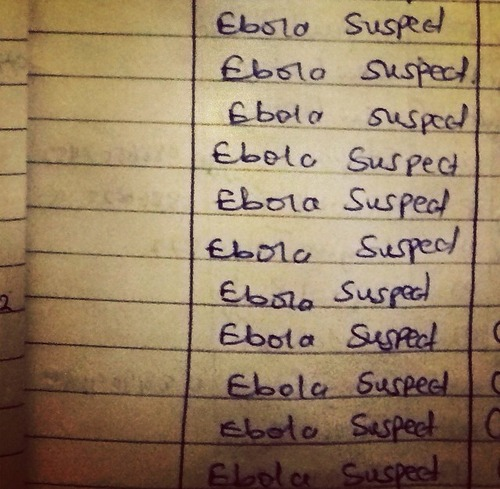 Ebola list