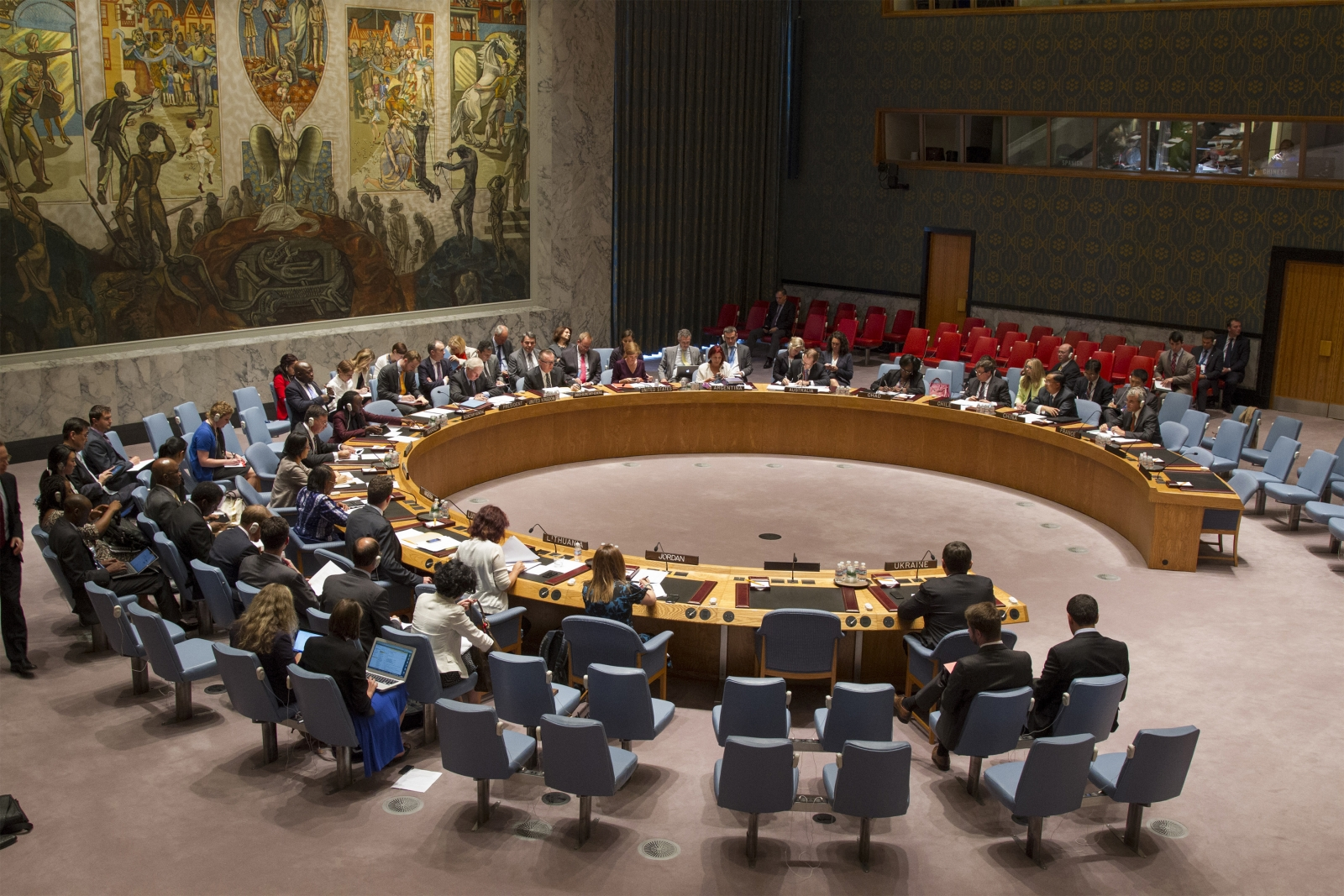 UN Security Council on foreign militants