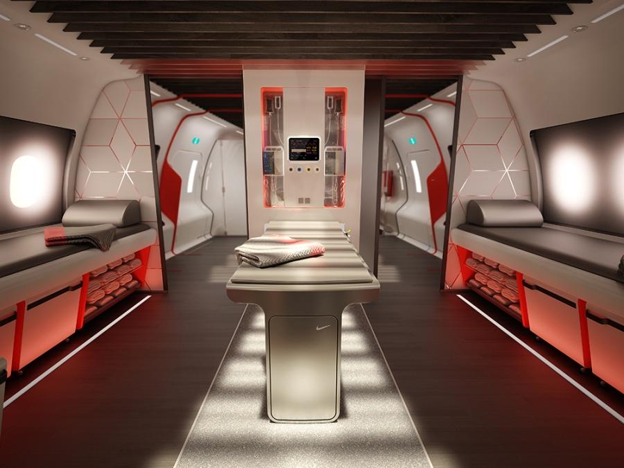 Nike Plane