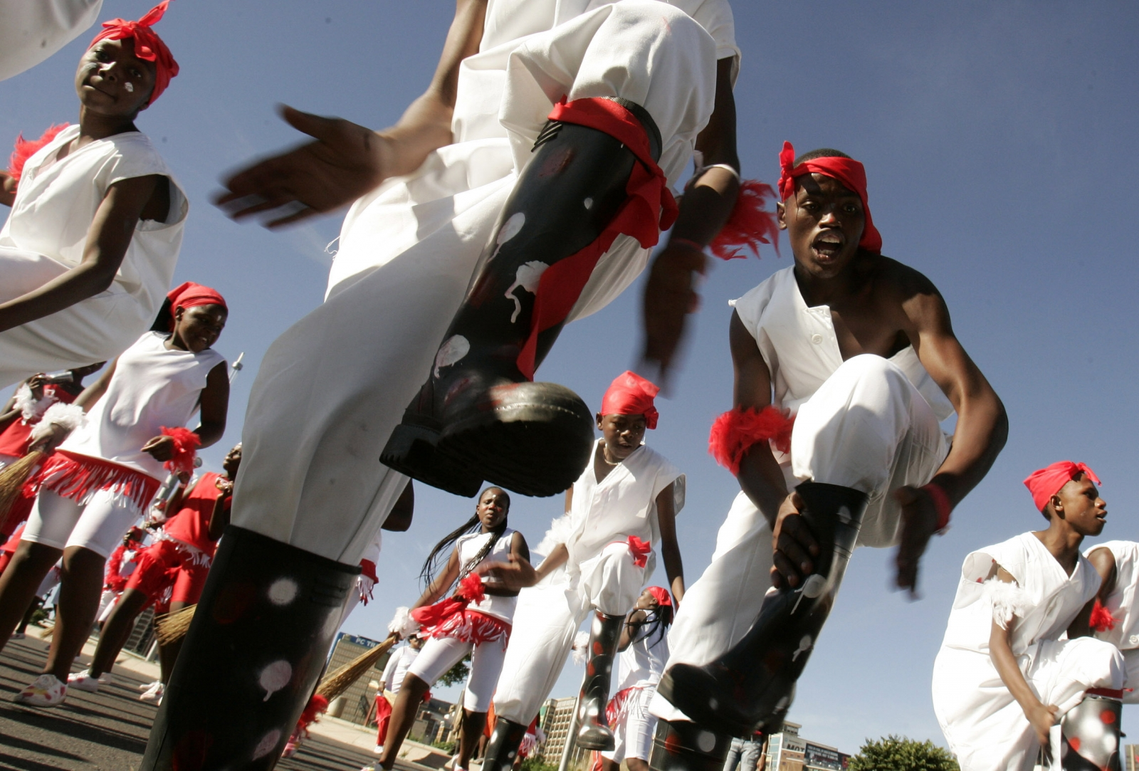 Gumboot dancers South Africa