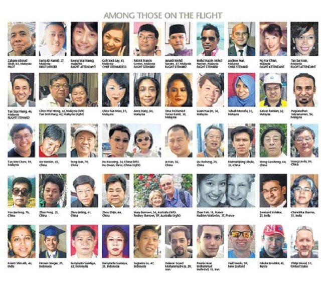 MH370 victims
