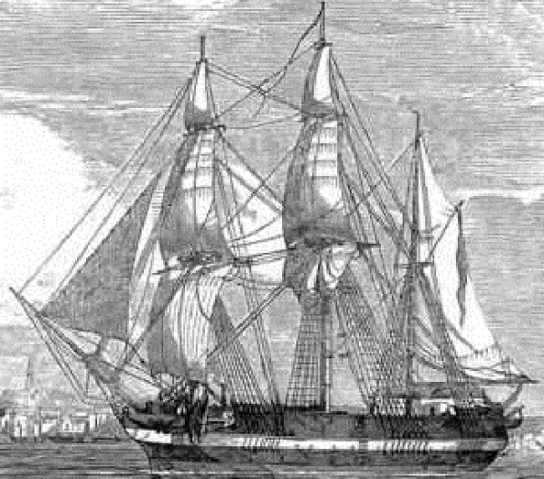 sir john franklin's ships